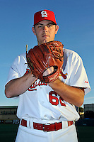 Mar 01, 2010; Jupiter, FL, USA; St. Louis Cardinals pitcher P.J. Walters (62) during  photoday at Roger Dean Stadium. Mandatory Credit: Tomasso De Rosa/ Four Seam Images