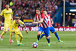 Filipe Luis of Atletico de Madrid in action during the La Liga match between Atletico de Madrid vs Villarreal CF at the Estadio Vicente Calderon on 25 April 2017 in Madrid, Spain. Photo by Diego Gonzalez Souto / Power Sport Images