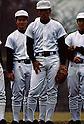 (L-R) Masumi Kuwata, Kazuhiro Kiyohara (PL Gakuen), DECEMBER 1984 - Beseball : Practice at PL Gakuen training ground in Osaka, Japan. (Photo by Katsuro Okazawa/AFLO)84_12 (PL)