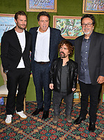 "LOS ANGELES, CA. October 04, 2018: Jamie Dornan, Sacha Gervasi, Peter Dinklage & Len Amato at the Los Angeles premiere for ""My Dinner With Herve"" at Paramount Studios.<br /> Picture: Paul Smith/Featureflash"