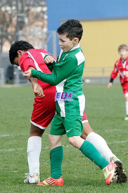 WELLING UNITED v INTERWOOD<br /> LONDON FA CUP (U10) FINAL SUNDAY 11TH MARCH 2012 MILE END STADIUM