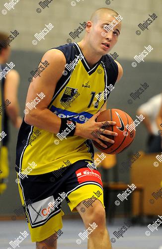 2011-09-07 / Basketbal / seizoen 2011-2012 / BBC Geel / Olivier Brusselmanne..Foto: mpics