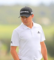 David Lipsky (USA) on the 3rd green during Round 4 of Made in Denmark at Himmerland Golf &amp; Spa Resort, Farso, Denmark. 27/08/2017<br /> Picture: Golffile | Thos Caffrey<br /> <br /> All photo usage must carry mandatory copyright credit     (&copy; Golffile | Thos Caffrey)
