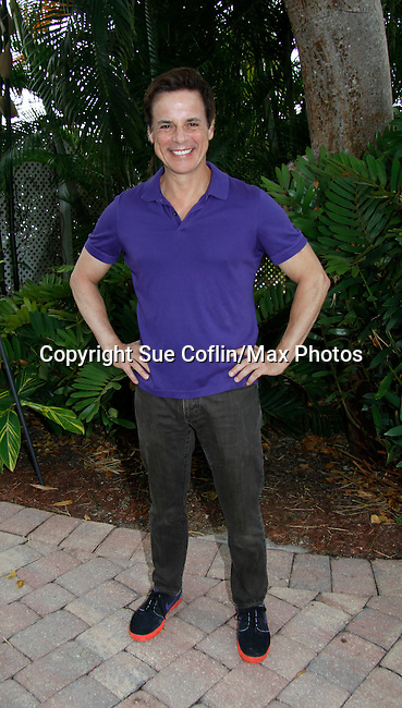 Christian LeBlanc - Actor from Y&R donated his time to Southwest Florida 16th Annual SOAPFEST - a celebrity weekend May 22 thru May 25, 2015 benefitting the Arts for Kids and children with special needs and ITC - Island Theatre Co. as it presented A Night of Stars on May 23 , 2015 at Bistro Soleil, Marco Island, Florida. (Photos by Sue Coflin/Max Photos)