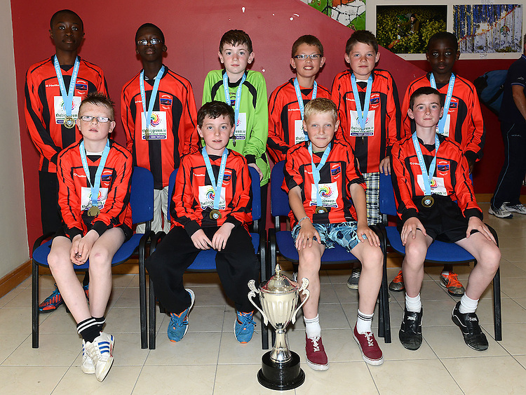 Drogheda Town U-12 Premier League winners. Photo:Colin Bell/pressphotos.ie