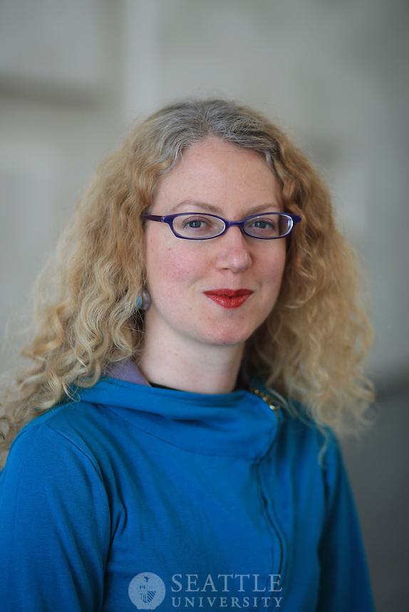 04302013- Jessica Christie Ludescher, assistant professor, Department of Management and Philosphy, Albers School of Business and Economics,
