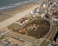 Maart 1996. Koninklijke villa in Oostende.
