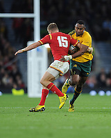 during Match 35 of the Rugby World Cup 2015 between Australia and Wales - 10/10/2015 - Twickenham Stadium, London<br /> Mandatory Credit: Rob Munro/Stewart Communications