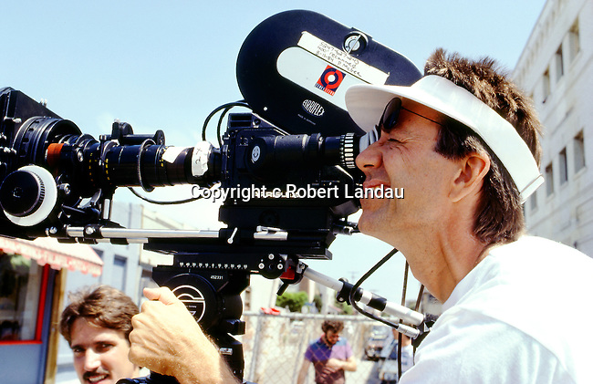 Ray Manzarek of The Doors directing and filming the music video for L.A. Woman in 1984