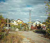 Spartak-Viertel ( an der Front), Donezk./ Spartak-quarter( at the front), Donezk.