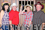 JAIL: On Saturday evening at the Ballyheigue Community Centre the Ballyheigue Festival committe held a western night, L-r: Linda O'Regan, Tommy James, Geraldine Galway and Ber Hehir.