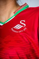 Alicia Powe<br />Swansea City FC kit photo shoot at the Liberty Stadium, Wales, UK. Wednesday 03 May 2017