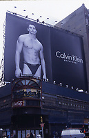 ***FILE PHOTO*** ANTONIO SABATO JR FORMALLY ANNOUNCES HE'S RUNNING FOR CONGRESS<br /> Antonio Sabato Jr. billboards showing his Calvin Klein Underwear ad campaign on June 17, 1997 at the 42nd Street, Times Square in New York City. <br /> CAP/MPI/WAL<br /> &copy;WAL/MPI/Capital Pictures