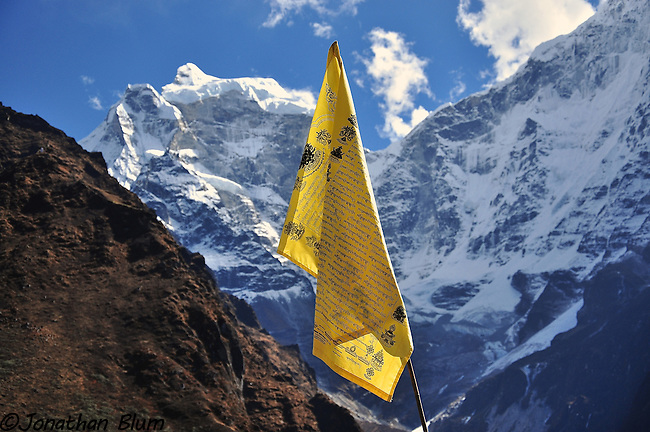 Prayer Flag, Tenboche, Nepal
