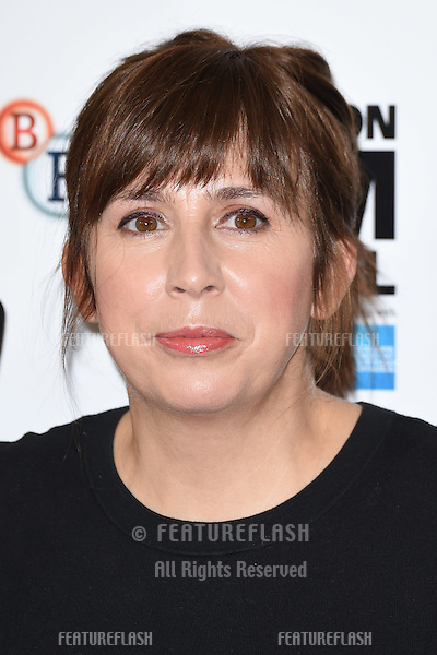 Screenwriter Abi Morgan at the photocall for her movie &quot;Suffragette&quot; at the Lanesborough Hotel, Knightsbridge, London.<br /> October 7, 2015  London, UK<br /> Picture: Steve Vas / Featureflash