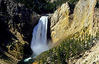 Yellowsone fall in Yellowstone national Park, Wyoming, USA