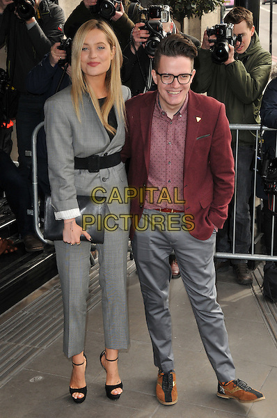 Laura Whitmore &amp; guest attend the TRIC ( Television and Radio Industries Club ) Awards 2016, Grosvenor House Hotel, Park Lane, London, UK, on Tuesday 08 March 2016.<br /> CAP/CAN<br /> &copy;Can Nguyen/Capital Pictures