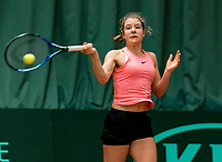 Wateringen, The Netherlands, March 9, 2018,  De Rijenhof , NOJK 12/16 years, Eniek van den Broek (NED)<br /> Photo: www.tennisimages.com/Henk Koster