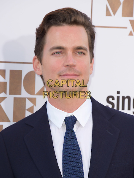 Matt Bomer attends The Warner Bros. Pictures' L.A. Premiere of Magic Mike XXL held at The TCL Chinese Theatre  in Hollywood, California on June 25,2015  <br /> CAP/DVS<br /> &copy;DVS/Capital Pictures