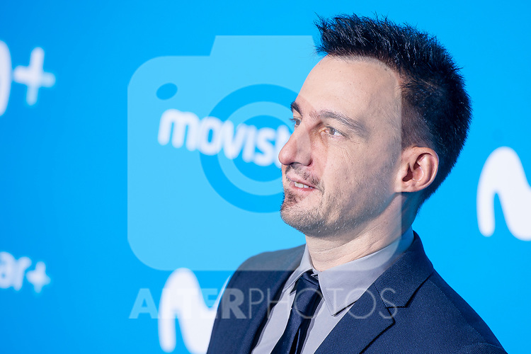 Alejandro Amenabar attends to blue carpet of presentation of new schedule of Movistar+ at Queen Sofia Museum in Madrid, Spain. September 12, 2018. (ALTERPHOTOS/Borja B.Hojas)