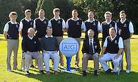 The Westport team during for the AIG Cups &amp; Shields Finals in Royal Tara Golf Club on Wednesday 18th September 2013.<br /> Picture:  Thos Caffrey / www.golffile.ie