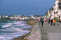 Europe/France/Bretagne/35/Ille-et-Vilaine/Saint- Malo: Sur la promenade du Sillon