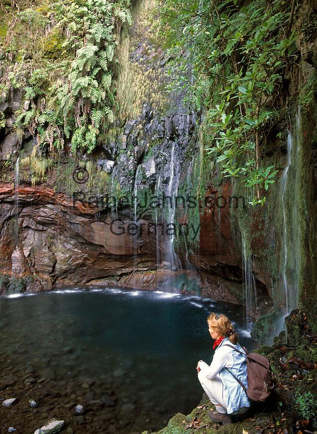 Portugal, Madeira, Levada 25 Fontes: Wandern entlang der Levadas | Portugal, Madeira, Levada 25 Fontes: hiking along the Levadas