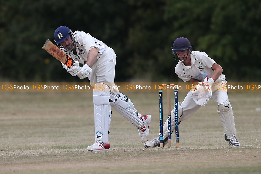 Goresbrook CC vs Upminster CC (batting), Essex Cricket League at May & Baker Sports Club on 1st August 2020