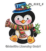 CHRISTMAS ANIMALS, WEIHNACHTEN TIERE, NAVIDAD ANIMALES, paintings+++++,KL6123/6,#xa# ,sticker,stickers