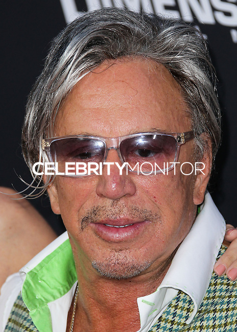 HOLLYWOOD, LOS ANGELES, CA, USA - AUGUST 19: Mickey Rourke at the Los Angeles Premiere Of Dimension Films' 'Sin City: A Dame To Kill For' held at the TCL Chinese Theatre on August 19, 2014 in Hollywood, Los Angeles, California, United States. (Photo by Xavier Collin/Celebrity Monitor)