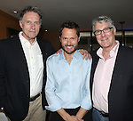 Michael Cullen, Matthew Humphreys & Michael Rupert.pictured at the Opening Night After Party for '7th Monarch' at Angus McIndoe Restaurant  in New York City on June 24, 2012.
