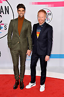 Jesse Tyler Ferguson &amp; Justin Mikita  at the 2017 American Music Awards at the Microsoft Theatre LA Live, Los Angeles, USA 19 Nov. 2017<br /> Picture: Paul Smith/Featureflash/SilverHub 0208 004 5359 sales@silverhubmedia.com