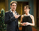 London, UK. 07.04.2014. THREE SISTERS by Anton Chekhov, opena at Southwark Playhouse. Picture shows: Paul McGann (Vershinen) and Emily Taaffe (Masha). Photograph © Jane Hobson.