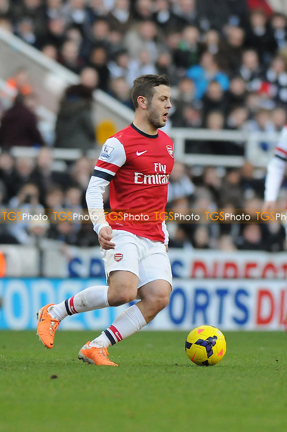 Jack Wilshere of Arsenal - Newcastle United vs Arsenal - Barclays Premier League Football at St James Park, Newcastle upon Tyne - 29/12/13 - MANDATORY CREDIT: Steven White/TGSPHOTO - Self billing applies where appropriate - 0845 094 6026 - contact@tgsphoto.co.uk - NO UNPAID USE