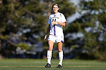 21 October 2012: Northwestern's Jackie Alyinovich. The Northwestern University Wildcats played the University of Iowa Hawkeyes at Lakeside Field in Evanston, Illinois in a 2012 NCAA Division I Women's Soccer game. Northwestern won the game 1-0.