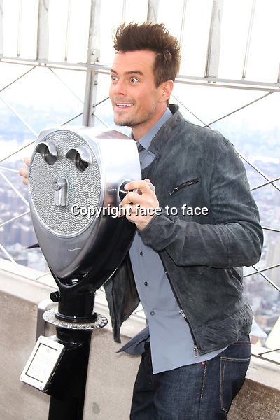 Josh Duhamel at The Empire State Building on February 12, 2013 in New York City. ..Credit: MediaPunch/face to face..- Germany, Austria, Switzerland, Eastern Europe, Australia, UK, USA, Taiwan, Singapore, China, Malaysia and Thailand rights only -