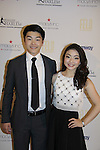 Alex & Maia Shibutani (skaters) at 10th Annual Gala celebrating Figure Skating in Harlem's 18th year of operations at The Stars 2015 Benefit Gala on April 13, 2015 in New York City, New York honoring Olympic Champion Evan Lysacek, Gloria Steinem and Nicole. Alana and Juliette Feld with Mary Wilson as Mistress of Ceremony. (Photo by Sue Coflin/Max Photos)
