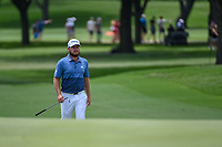 Tyrrell Hatton (ENG) approaches the green on 2 during round 4 of the 2019 Charles Schwab Challenge, Colonial Country Club, Ft. Worth, Texas,  USA. 5/26/2019.<br /> Picture: Golffile | Ken Murray<br /> <br /> All photo usage must carry mandatory copyright credit (© Golffile | Ken Murray)