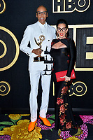 LOS ANGELES, CA. September 17, 2018: RuPaul & Michelle Visage at The HBO Emmy Party at the Pacific Design Centre.<br /> Picture: Paul Smith/Featureflash