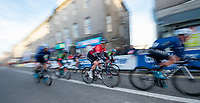 Picture by Allan McKenzie/SWpix.com - 17/05/2018 - Cycling - OVO Energy Tour Series Mens Race Round 3:Aberdeen - The peloton passes through Aberdeen.