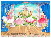Ingrid, CHILDREN, KINDER, NIÑOS, paintings+++++,USISSS88SC,#K#,ballet ,vintage