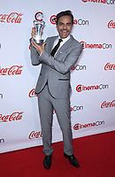 30 March 2017 - Las Vegas, NV - Eugenio Derbez. 2017 CinemaCon Big Screen Achievement Awards at Caesar's Palace.  Photo Credit: MJT/AdMedia