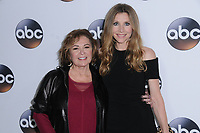 08 January 2018 - Pasadena, California - Rosanne Barr, Sarah Chalke. 2018 Disney ABC Winter Press Tour held at The Langham Huntington in Pasadena. <br /> CAP/ADM/BT<br /> &copy;BT/ADM/Capital Pictures