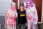 Linda Browne, Paula Ladden and Helen Tuomey pictured at Benners Hotel's Boos and Booze Halloween Party in association with Gordons Pink Gin on Sunday.