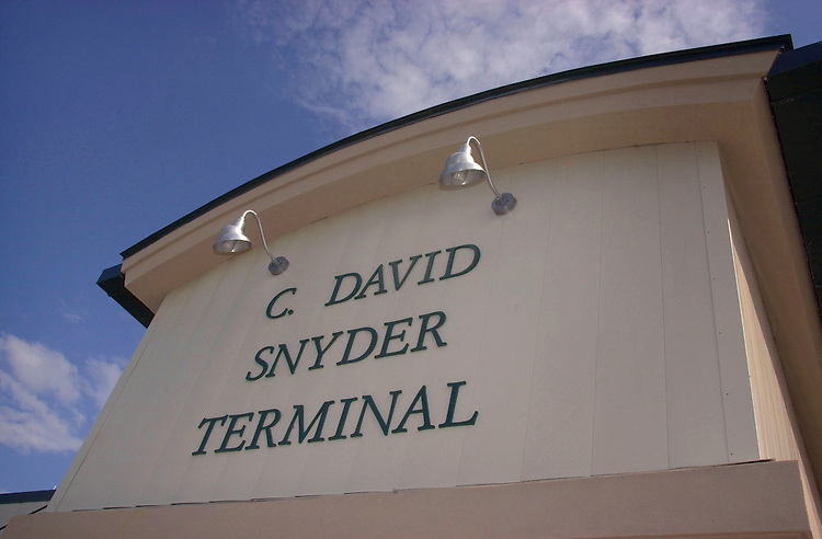 15310Ohio University Airport:  Snyder Terminal Dedication 4/12/02