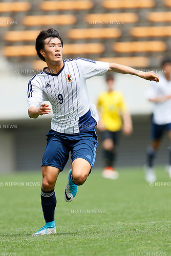 Koki Ogawa (JPN), <br /> APRIL 18, 2017 - Football / Soccer : <br /> U-20 Japan National team training match <br /> between U-20 - JEF United Chiba <br /> in Chiba, Japan. <br /> (Photo by Yohei Osada/AFLO SPORT)