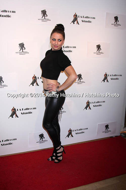LOS ANGELES - MAR 31:  Silke Kindle at the LA Ballroom Studio Grand Opening at LA Dance Studio on March 31, 2014 in Sherman Oaks, CA