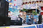 MEXICAN BAND AT FESTIVAL IN ROSARITO BAJA