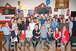 KEY TO THE DOOR: Daniel Kerins, Fountain Court, Tralee had a blast celebrating his 21st birthday last Saturday night in the John Mitchell's GAA clubhouse, Tralee packed with many friends and family.
