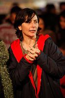 SAO PAULO, 15 DE JULHO DE 2012. CAMPANHA SONINHA FRANCINE. A candidata a prefeitura de São Paulo, Soninha Francine, durante festa junina em escola na Lapa em São Paulo.  FOTO: ADRIANA SPACA. BRAZIL PHOTO PRESS